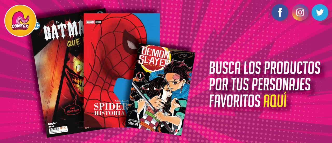 comics y mangas envios a toda colombia