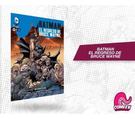 Batman el regreso de Bruce Wayne