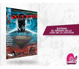 Batman el origen de la Liga de la Justicia