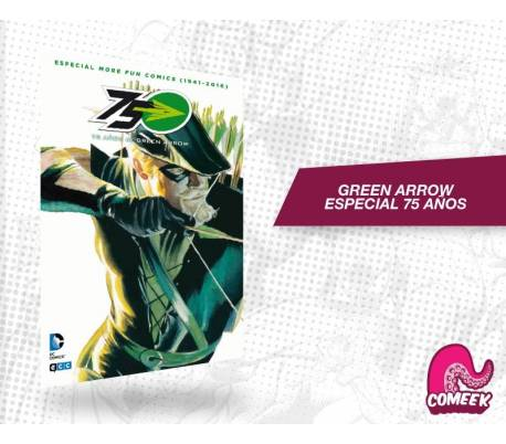 Especial 75 años Green Arrow