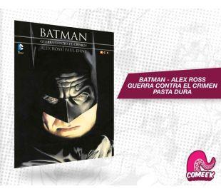 Batman Guerra Contra el Crimen Alex Ross