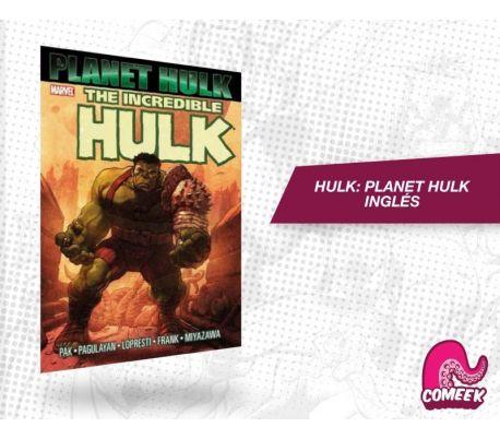 Planet Hulk TPB inglés