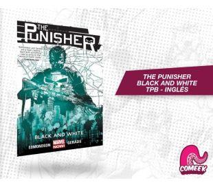 Punisher Black and White TPB inglés