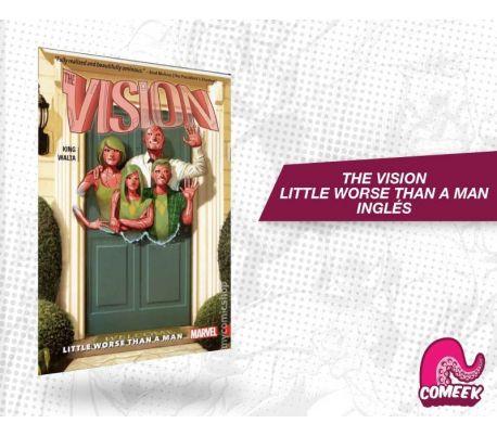 Vision Vol. 1 Little Worse Than A Man TPB inglés