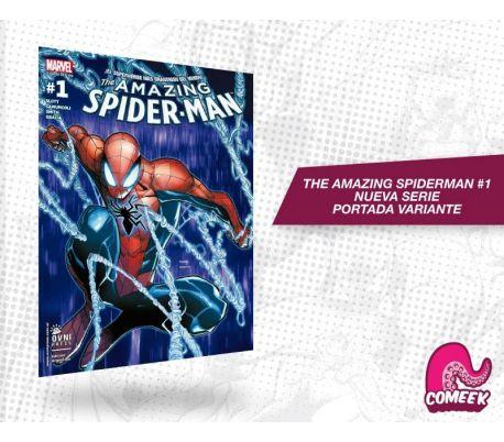 The Amazing Spiderman número 1 nueva serie portada variante