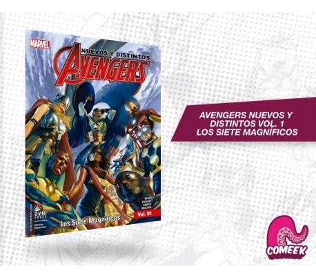 Avengers nuevos y distintos los siete magníficos