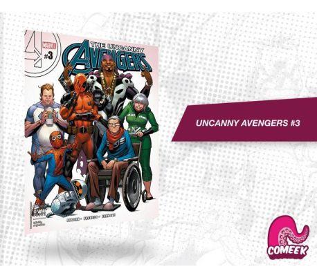 Uncanny Avengers número 3 nueva serie