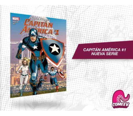 Capitán América número 1 nueva serie