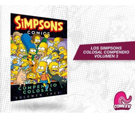 Los Simpsons compendio colosal volumen 3