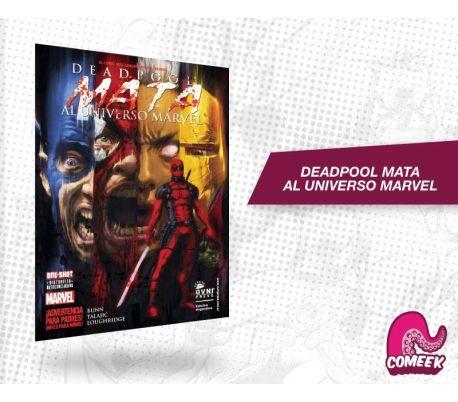 Deadpool mata al universo marvel