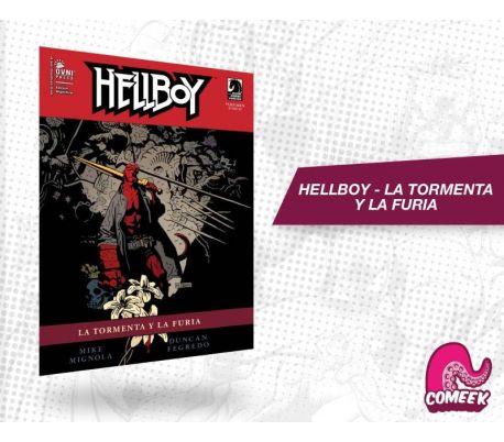 Hellboy La tormenta y la furia