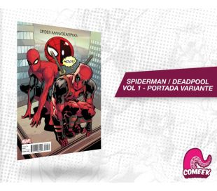 Spiderman Deadpool Vol. 1 portada variante