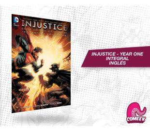 Injustice año Uno hardcover inglés