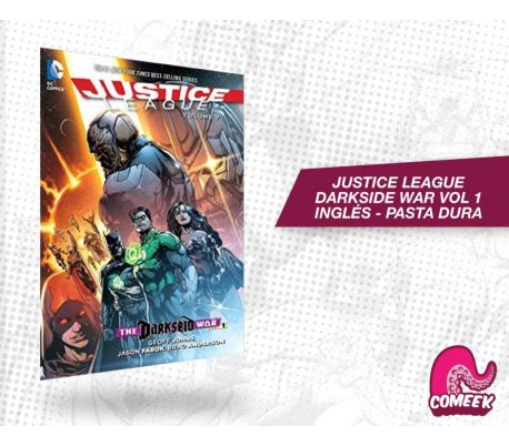 Liga de la Justicia Darkside War Vol 1 inglés pasta dura