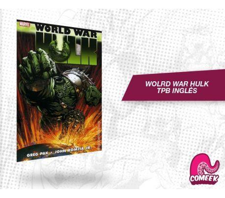 World War Hulk TPB inglés