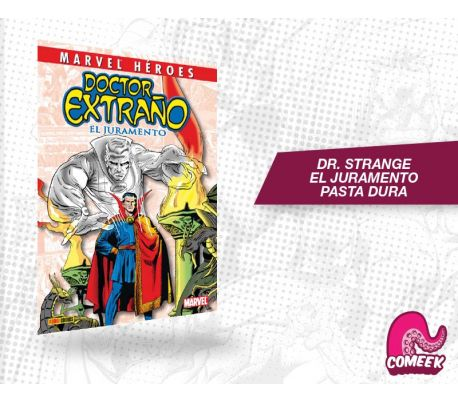 Doctor Strange El Juramento pasta dura