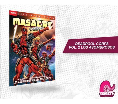 Deadpool Corps Volumen 2 Los asombrosos deadpool corps