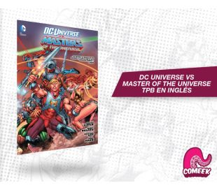 Dc Universe Vs Masters of the Universe TPB inglés