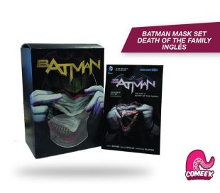 Batman Death of the Familiy Mask and Book Set