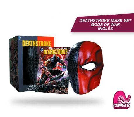 Deathstroke Gods of War Mask and Book Set