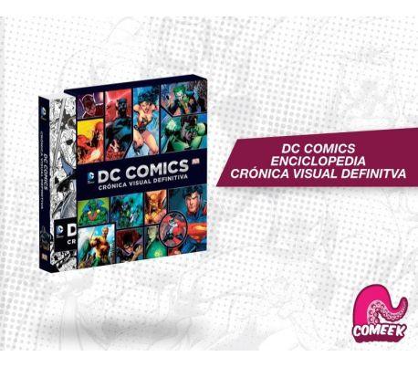 Dc comics Crónica Visual Definitiva Edición especial