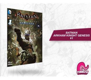 Batman Arkham knight Génesis número 1