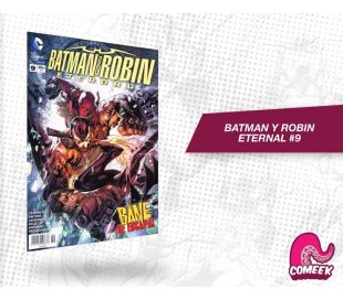 Batman y Robin eternal número 9