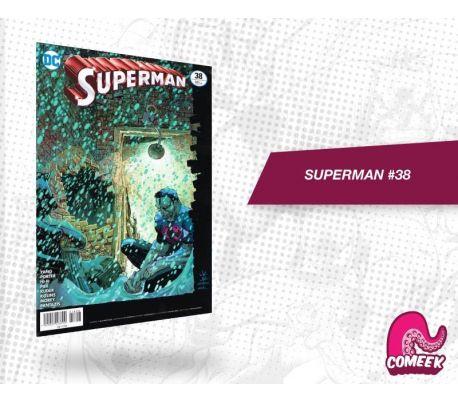 Superman número 38 más afiche