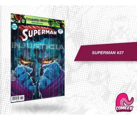 Superman número 37 más afiche
