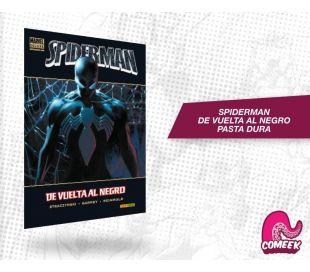 Spiderman de Vuelta al Negro Pasta Dura