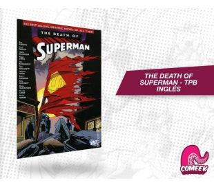 The Death of Superman Paperback Inglés