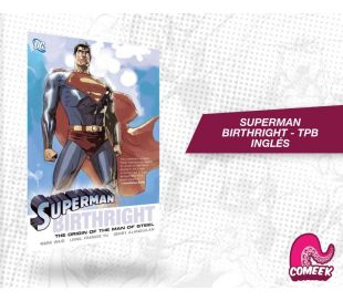 Superman: Birthright Paperback inglés