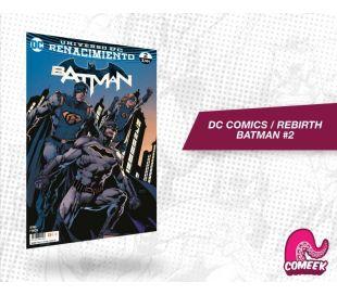 Batman Rebirth número 2