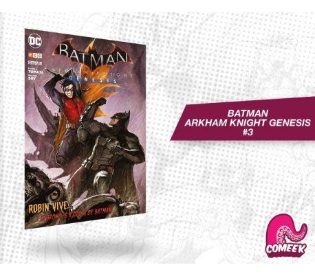 Batman Arkham knight Génesis número 3