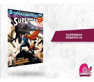Superman Rebirth número 5