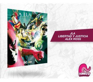 JLA Libertad y Justicia Alex Ross