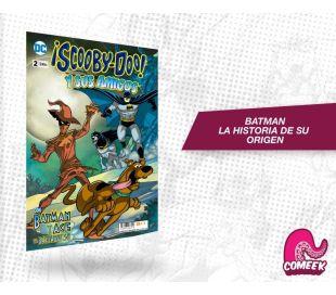 Scooby Doo y sus amigos número 2 con Batman y el Batisabueso