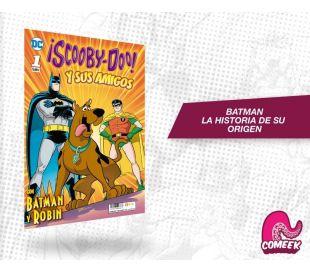 Scooby Doo y sus amigos número 1 con Batman y Robin