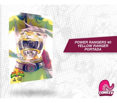Mighty Morphin Powers Rangers número 0 Ranger Amarillo