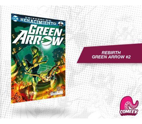 Green Arrow número 2 rebirth
