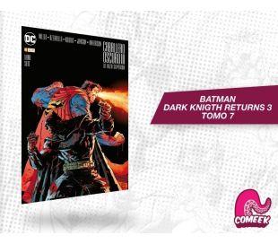 Batman El regreso del caballero oscuro 3 La Raza Superior tomo 7
