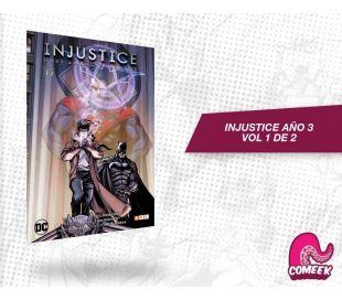 Injustice Año Tres