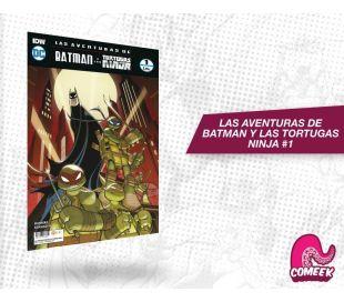Las Aventuras de Batman y Las Tortugas Ninja número 1 de 6