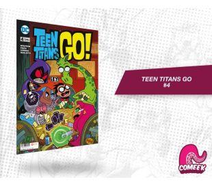 Teen Titans Go número 4