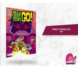Teen Titans Go número 5