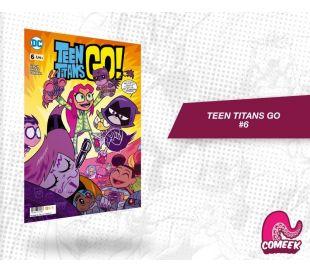 Teen Titans Go número 6