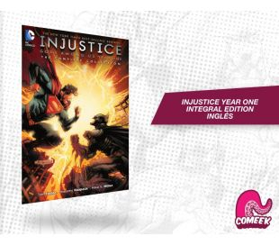Injustice Year One Integral Inglés