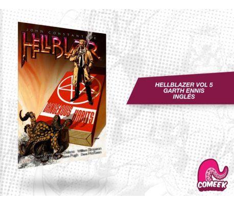 Hellblazer Vol 5 Garth Ennis Inglés