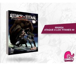 Ataque a los titanes número 9
