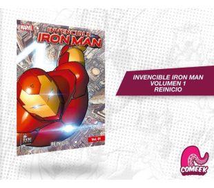 Invencible Iron Man Vol 1 Reinicio